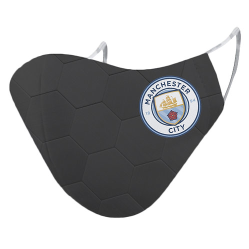 ESSENTIELE MANCHESTER CITY GK 20/21 2PLY REUSABLE FACE MASK (PACK OF 1)