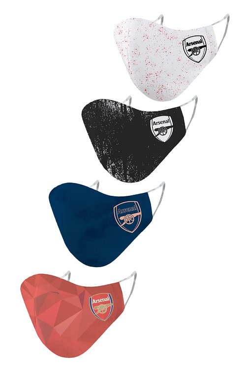ESSENTIELE ARSENAL H/A/T/G KIT 20/21 2PLY REUSABLE FACE MASK (PACK OF 4)