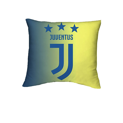 ESSENTIELE Juventus FC Cushion Cover (16X16 INCHES)