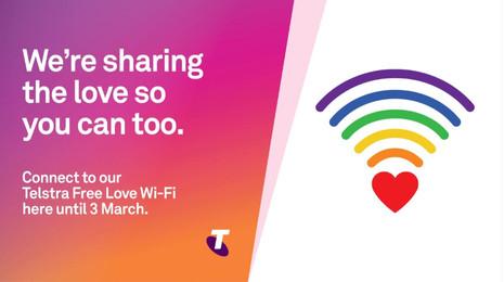 Telstra / Free Love Wi-Fi / OOH