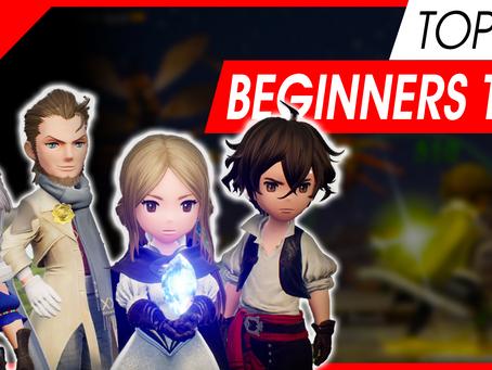 BRAVELY DEFAULT 2 Beginner TIPS! [Top 10 for starting players]