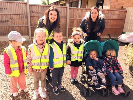 Sponsored Walk- CrackerJack's children's trust