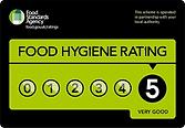 My Nursery Grantham 5 star food hygiene rating
