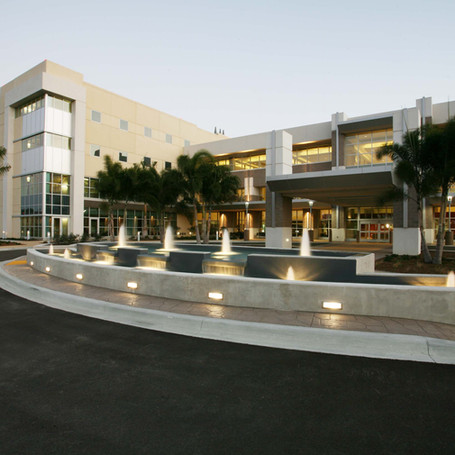 Gulf Coast Hospital - A 400,000 square foot addition which includes a new emergency room, 22 operating rooms, 229 private patient rooms, 26 ICU rooms, 6 X-Ray rooms, 3 CT Rooms, 3 Cath Labs, 2 Angio Rooms, one MRI room and a large central plant that contains  three 2,000 KW Generators with 19 Automatic Transfer Switches.