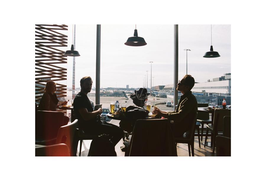Ben + Rob Amsterdam Airport 2016