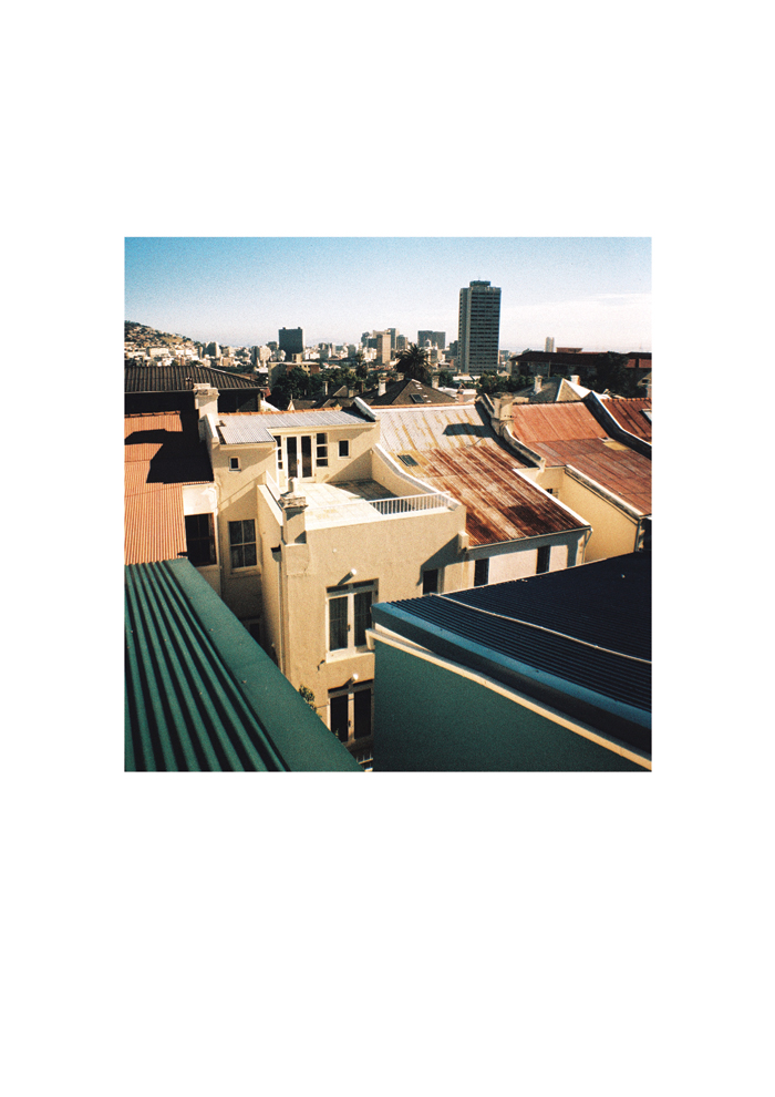 Prince Street Balcony View Cape Town 2011