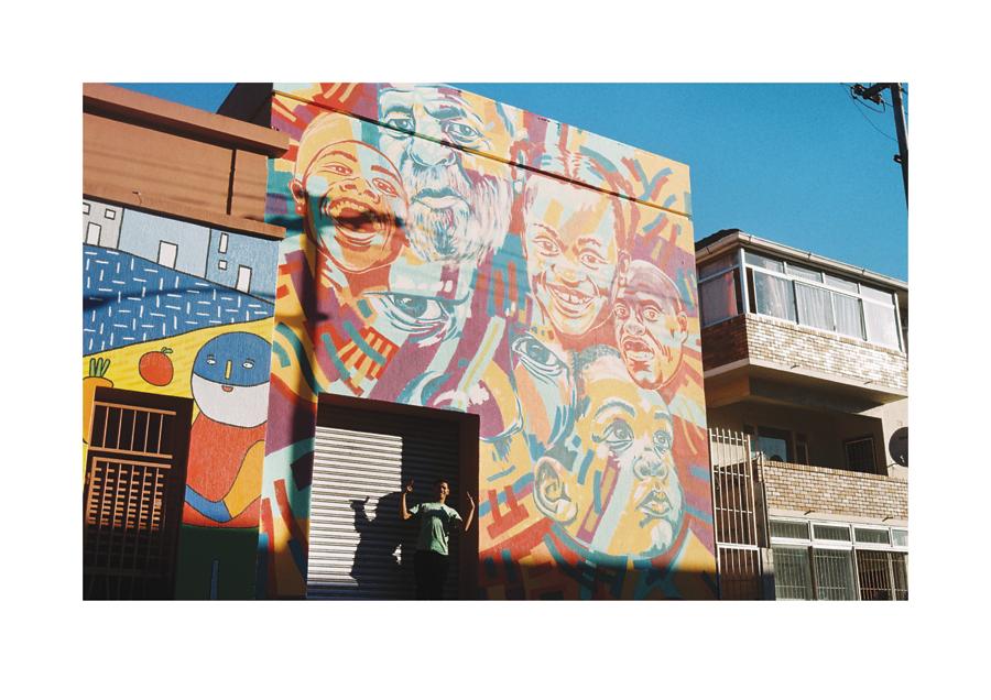 Parow Portrait Mural 2015