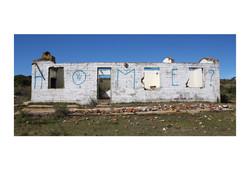 Broken Home, N2 near Mossel Bay 2016