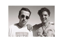 Matt + Aaron, Afrikaburn 2011