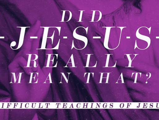 Difficult Teachings