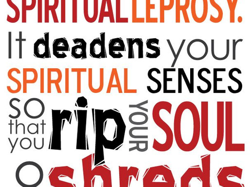 Spiritual Leprosy