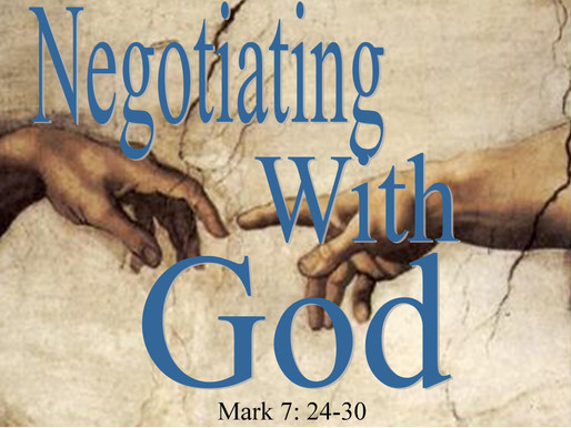 Negotiating With Christ
