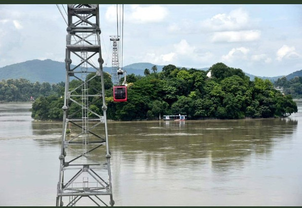 India's longest passenger ropeway across a river unveiled in Guwahati