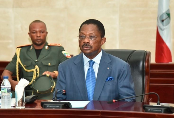 Francisco Asue reappointed as Prime Minister of Equatorial Guinea.