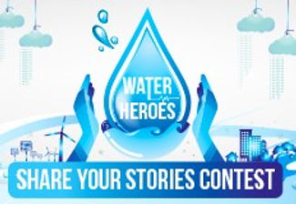 "Water Heroes – Share Your Stories"" contest:"