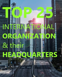 International Organizations and their headquarters