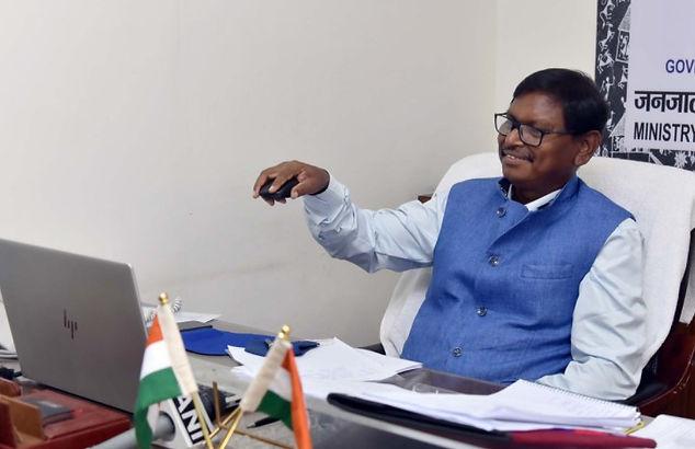 Arjun Munda launches Trifood Project of TRIFED in Raigad, Maharashtra and Jagdalpur, Chhattisgarh
