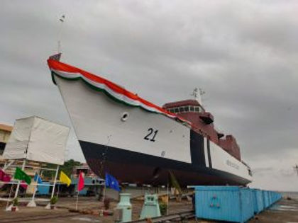 'Sarthak' ICG's 4th Offshore Patrol Vessel launched