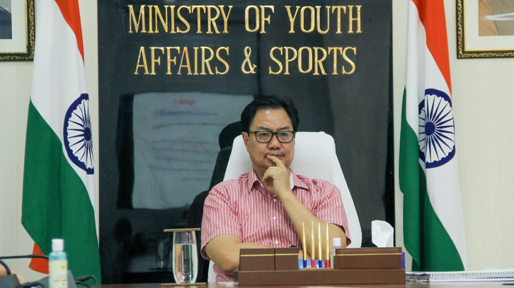 Kiren Rijiju announced an increase in the prize money in four of the seven categories of the National Sports and Adventure Awards.