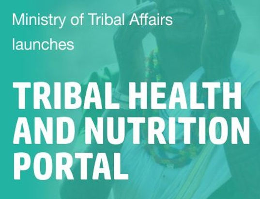 "Arjun Munda inaugurates ""SWASTHYA"", an e-portal on tribal health & nutrition."