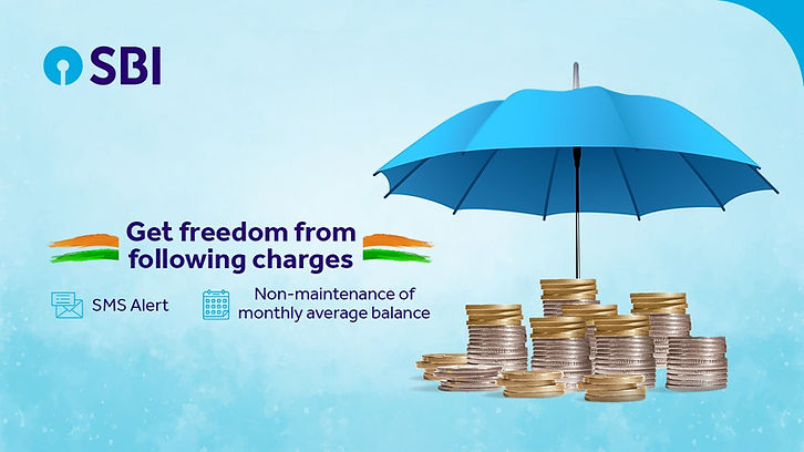 SBI waived off SMS charges and non-maintenance of minimum balance charges for all its Savings Accounts.