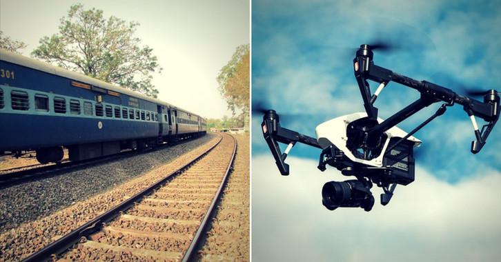 "Railways has introduced ""Ninja"", a drone-based surveillance system."