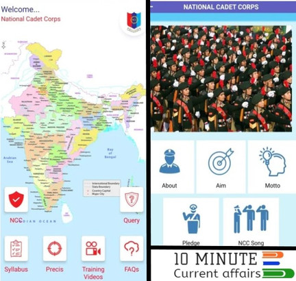 Defence Minister launches mobile App, 'DGNCC' for NCC Training