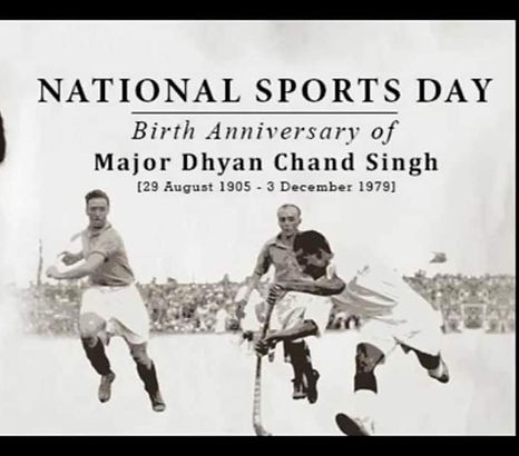 Every year on August 29, India celebrates its National sports day.
