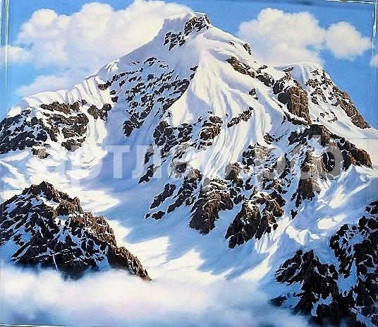 Финиревский Э. Вершины гор 50х55