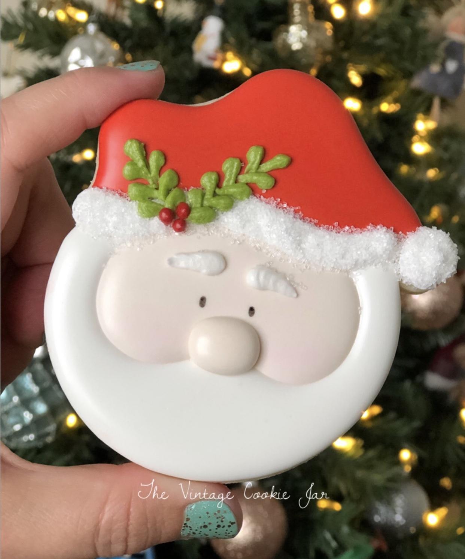 Sugar Cookie Santa