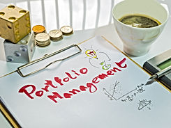 Image of Investment Management. Portfoli