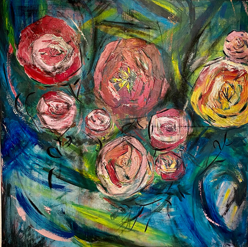 Cartoon Roses, 2019