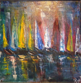 Sailing in Abstraction, 2019