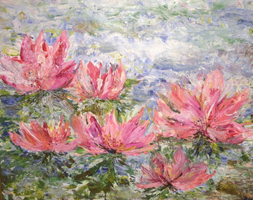 Abstract Waterlilies, 2016