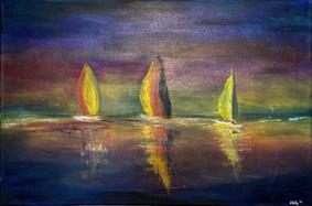 Sailing in Twilight, 2018
