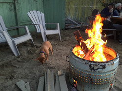 Firepit in action