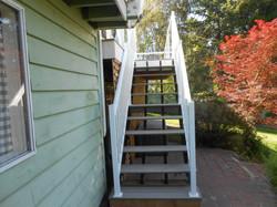 Backyard Stairs