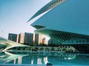 Calatrava's work in Valencia, Spain