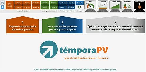 témporaPV. Plan de viabilidad eco-fin