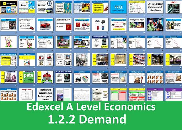 1.2.2 Demand - Theme 1 Edexcel A Level Economics