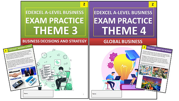 Edexcel A Level Business YEAR 2 Exam Practice (Interactive Book)