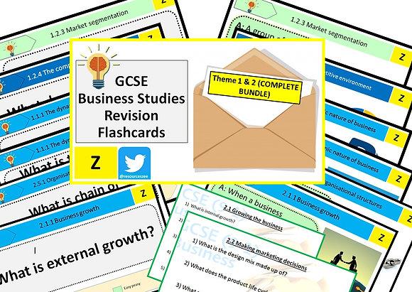 Edexcel GCSE Business 9-1 Knowledge revision - 204 flashcards