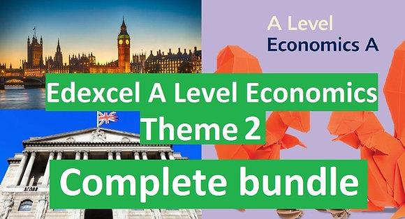 Edexcel A Level Economics Theme 2 (COMPLETE COURSE)