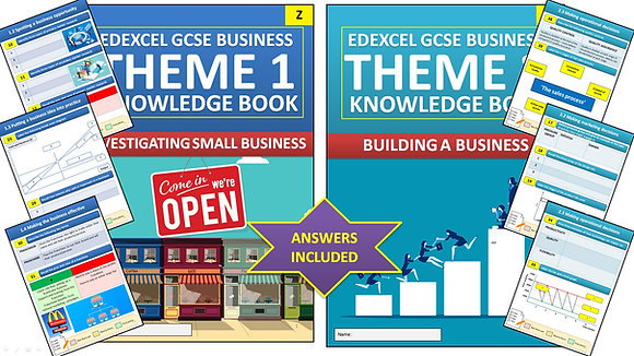 Edexcel GCSE Business Interactive Knowledge Books