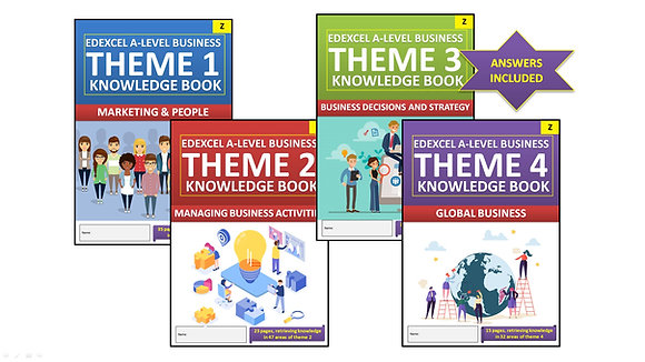 Edexcel A Level Business Interactive Knowledge Book