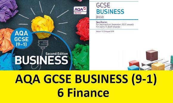 AQA GCSE Business 9-1 - 6 Finance