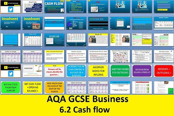 AQA GCSE Business 9-1 - 6.2 Cash flow