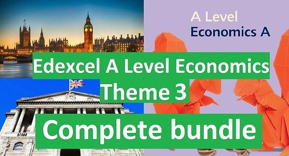 Edexcel A Level Economics Theme 3 (COMPLETE COURSE)