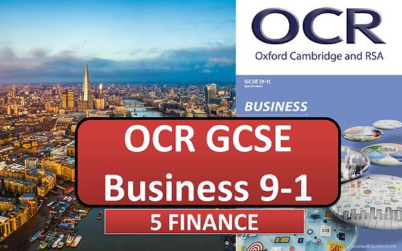 OCR GCSE Business - 5 Finance