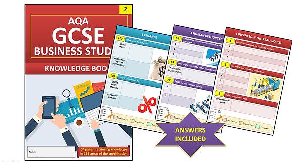Interactive Knowledge Book Sample (AQA GCSE)